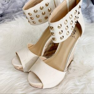 6 inch Wedges from JustFab.